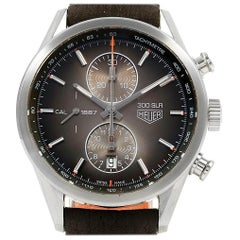 TAG Heuer Carrera 300 SLR Brown Dial Chronograph Watch CAR2112