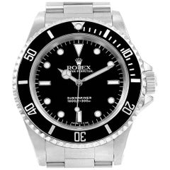Rolex Submariner Non-Date Stainless Steel Men's Watch 14060
