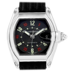 Cartier Roadster Las Vegas Roulette Dial Steel Men's Watch W62002V3