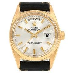 Rolex President Day-Date Vintage Yellow Gold Wide Boy Men's Watch 1803