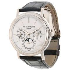 Patek Philippe Perpetual Calendar 5139G-001 Men's Watch in 18 Karat White Gold