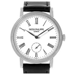 Patek Philippe Calatrava White Gold Ladies Watch 7119G Box Papers