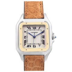 Cartier Panthere Large Steel Yellow Gold Unisex Watch W25028B6