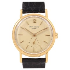 Patek Philippe Calatrava Vintage Yellow Gold Automatic Men's Watch 3435
