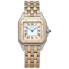 Cartier Panthere Steel And Yellow Gold 1120