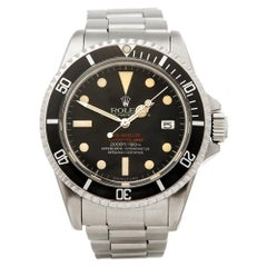 Rolex Sea Dweller Double Red Stainless Steel 1665