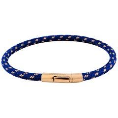 Tateossian Pop Chalif 18 Karat Gold Bracelet in Blue