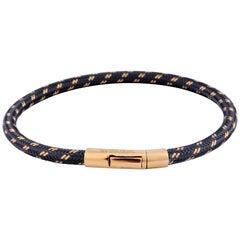 Tateossian Pop Chalif 18 Karat Gold Bracelet in Grey