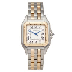 Cartier Panthere Steel And Yellow Gold 1100