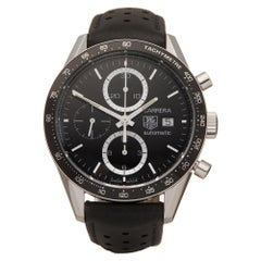 Tag Heuer Carrera Stainless Steel CV2010 Wristwatch
