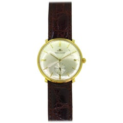 Jaeger-LeCoultre 1950s Yellow Gold Unisex Manual Winding Wristwatch