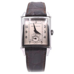 Girard Perregaux Stainless Steel Vintage 1945 Silver Dial Watch Ref. 2593