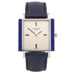 Patek Philippe Vintage Lapis Lazuli 18k White Gold 3579G