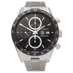 Tag Heuer Carrera Stainless Steel CV2010-0 Wristwatch