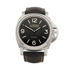 Panerai Luminor Stainless Steel PAM00560 Wristwatch