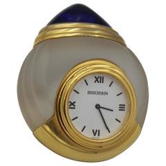 Boucheron Jaipur Small Glass Table Clock