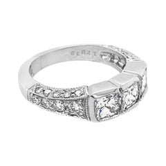 Martin Flyer Platinum 2.20 Carat Diamond Ring