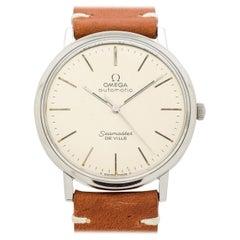 Vintage Omega Seamaster DeVille Stainless Steel Watch, 1966