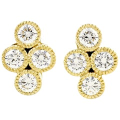 Julius Cohen Diamond Town Earrings