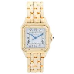 Cartier 18 Karat Yellow Gold Unisex Panther