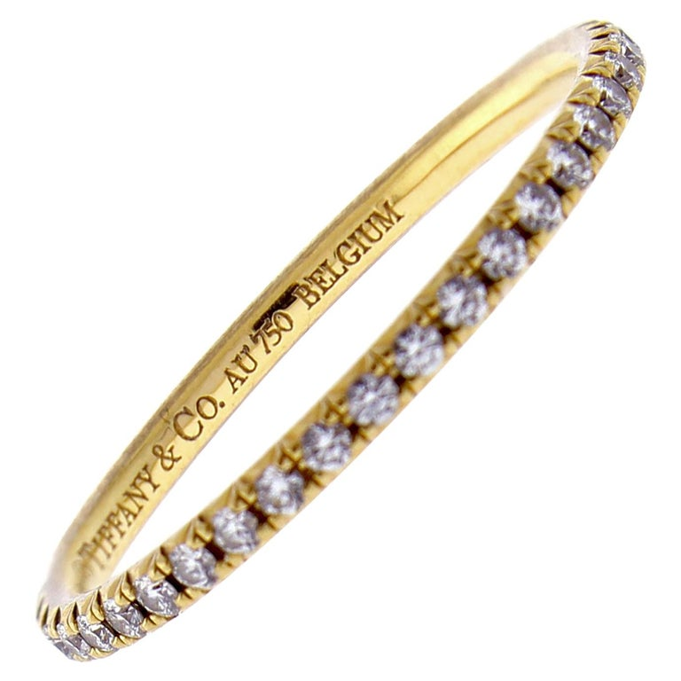 Tiffany & Co. Soleste Diamond Band Ring For Sale