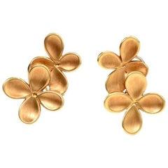 Angela Cummings Tiffany & Co. 18 Karat Yellow Gold Clip-On Earrings