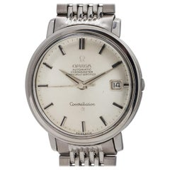 Omega Stainless Steel Constellation Automatic Wristwatch Ref 168.000, circa 1963