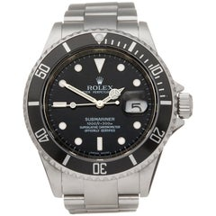Rolex Submariner Stainless Steel 16610 Wristwatch
