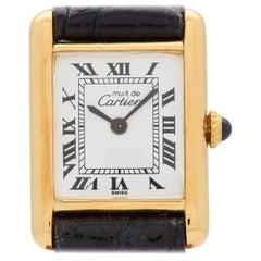 Cartier Tank Must de Ladies Sized Watch, 1990s