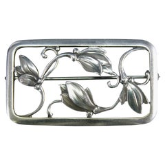 Georg Jensen Sterling Silver No 295 Brooch