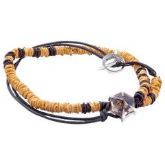 Silver Bracelet Smoky Quartz