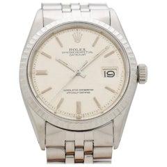 Vintage Rolex Datejust Reference 1601 Linen Dial, 1972