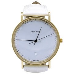 Gold Georg Jensen Wristwatch