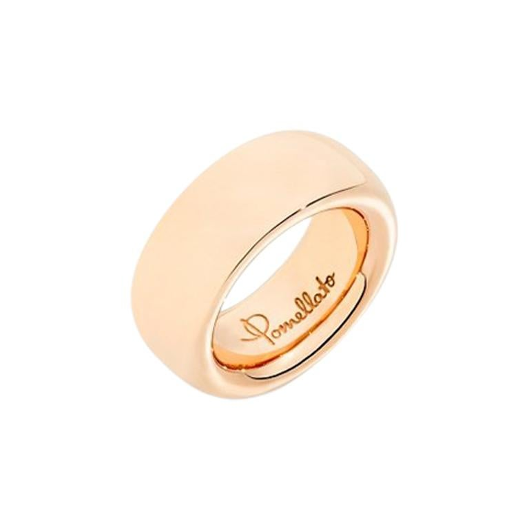 Pomellato Iconica Large Ring in Rose Gold A.910650GO7 For Sale