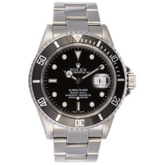 Rolex Stainless Steel Submariner 16610 with Box