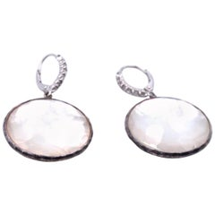 Ippolita Mother of Pearl Rock Candy and Diamond Earrings