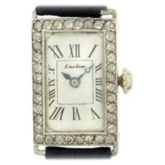 Art Deco Cartier Diamond Wristwatch