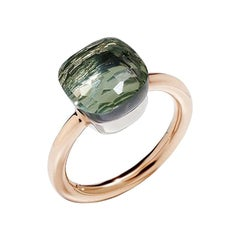 Pomellato Nudo Classic Ring in Rose Gold with Prasiolite A.A110-O6-PA