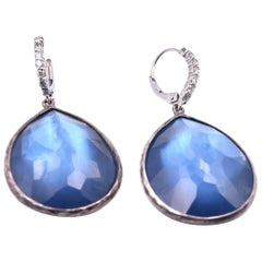 Ippolita Blue Rock Crystal Earrings