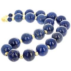 Lapis Lazuli Unique Handmade Necklace
