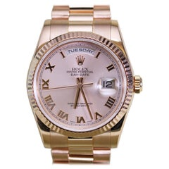 Rolex Rose Gold President Day-Date Ref 118235 with Box and Papers, circa 2005