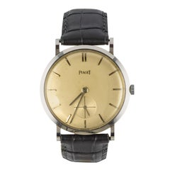 1960s Piaget Retro Men Wristwatch