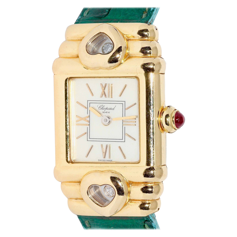 Chopard Happy Diamonds Sport 18 Karat Gold Ladies Watch