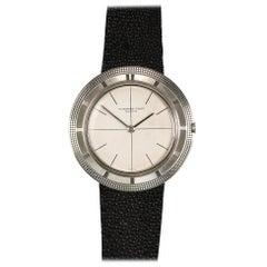Audemars Piguet White Gold Ultra-Thin Wristwatch, circa 1950s