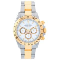 "Rolex ""Zenith"" Daytona Steel and Gold 2-Tone Chronograph Watch 16523"