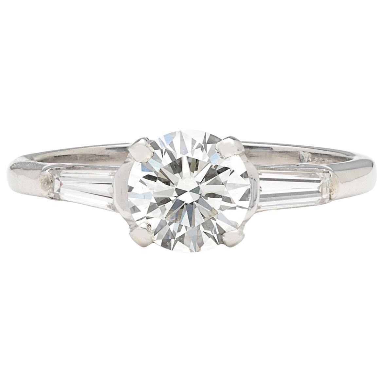 GIA 1.01 Carat G/VS2 Diamond Engagement Ring