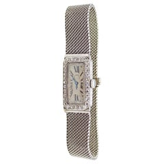 Audemars Piguet by J.E. Caldwell Ladies Platinum Diamond Manual Wristwatch