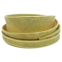 Barbara Heinrich Wrapped Ring 18 Karat Yellow Gold