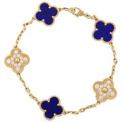 Van Cleef & Arpels Vintage Alhambra 50th Anniversary Bracelet