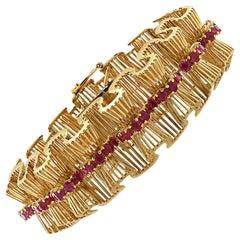 Retro Tiffany & Co. Ruby Bracelet